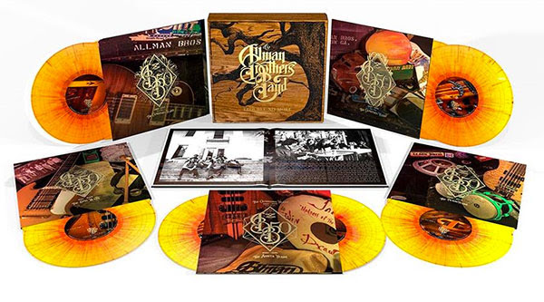 The Allman Brothers Band Trouble No More 50th Anniversary Box Set