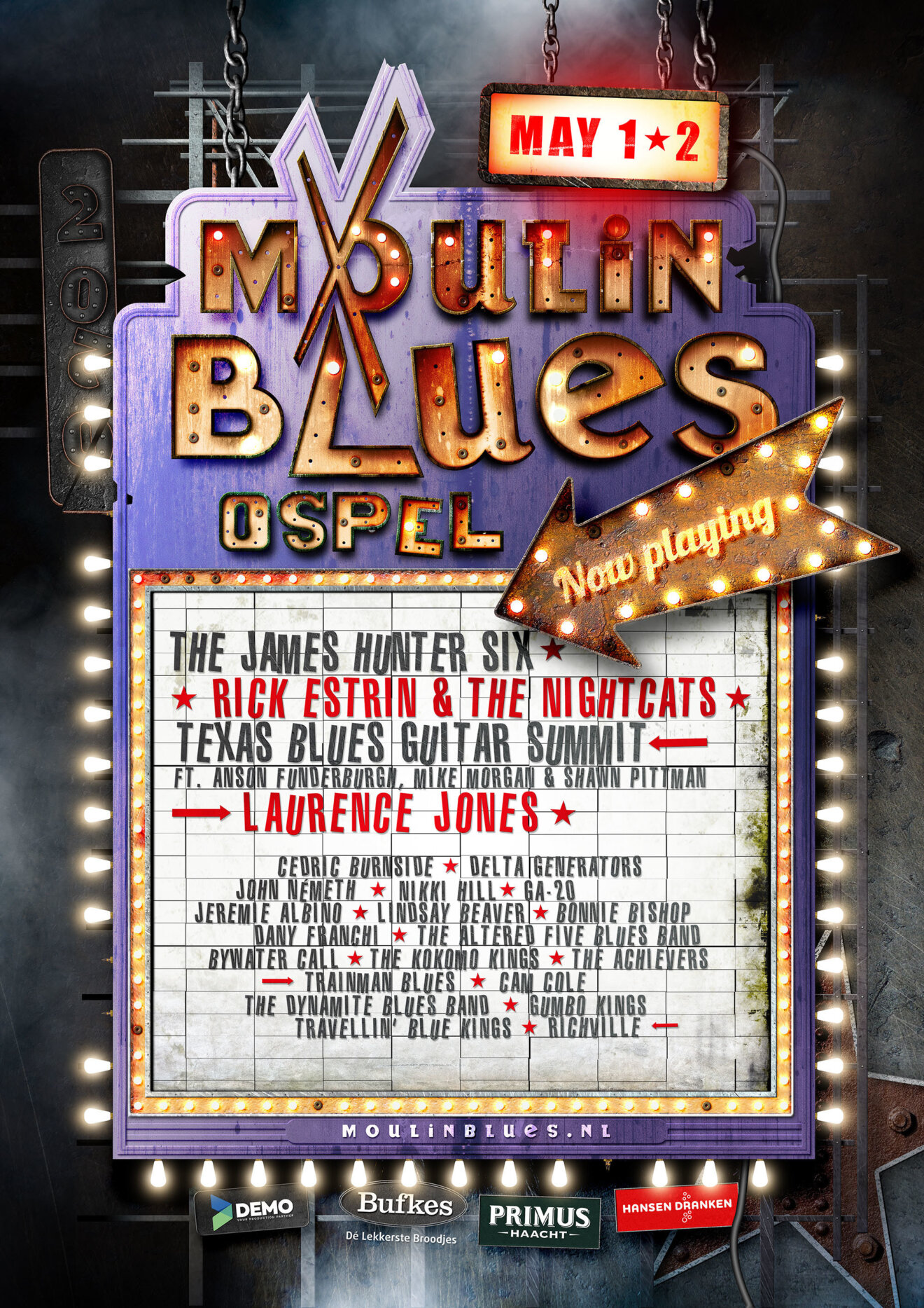 moulin blues ospel 2020