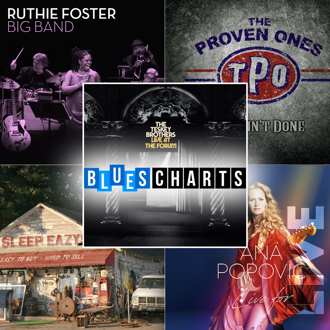 Blues Album Top 20 Week 22
